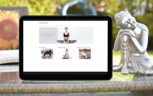 Yoga website design, High Wycombe