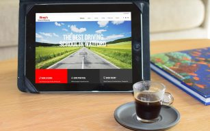 Driving instructor website design, Watfors